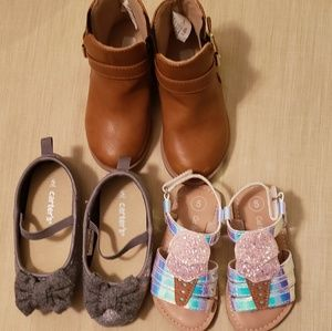 Bundle of 3 Baby Shoes